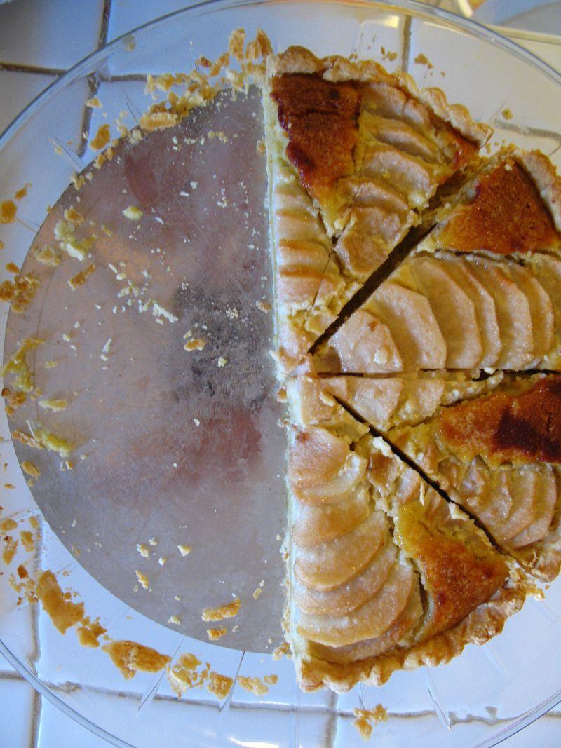 Pear tart 012