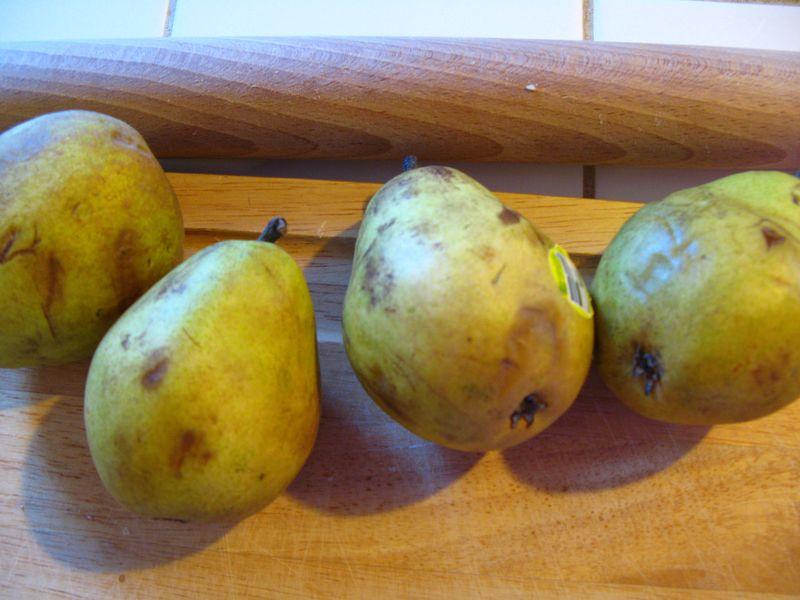 Pear tart 005