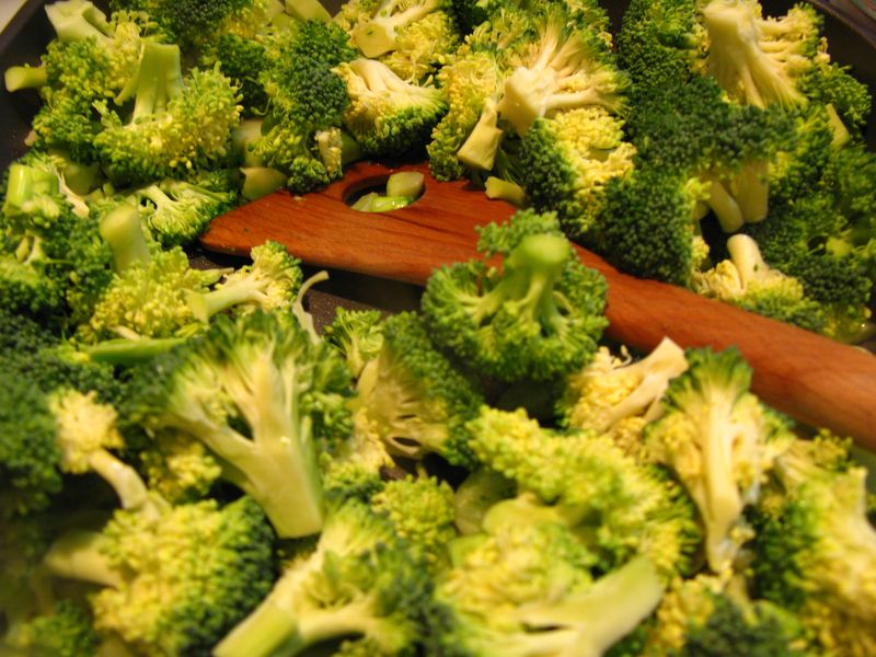 Broccoli and choctart 008