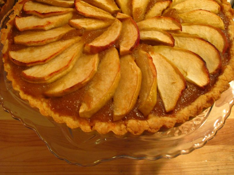 Apple tart 035