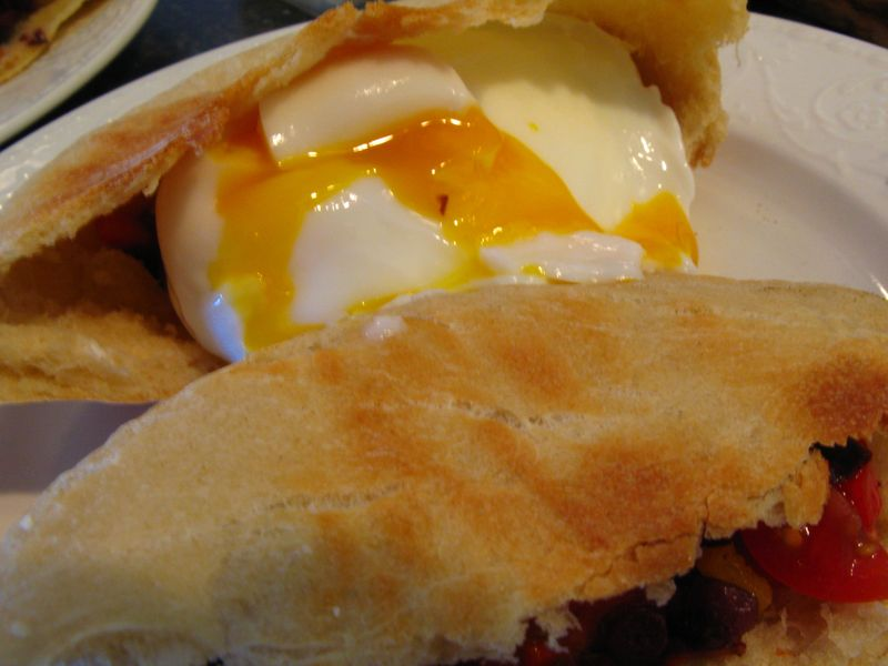 Poached eggs 006