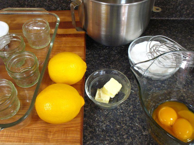 Lemon pudding cakes 018